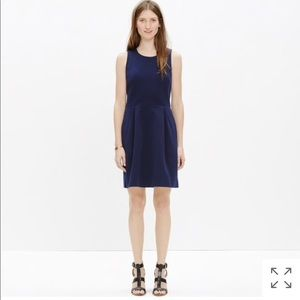NWOT Madewell Pointe Verse Navy Blue Dress Medium